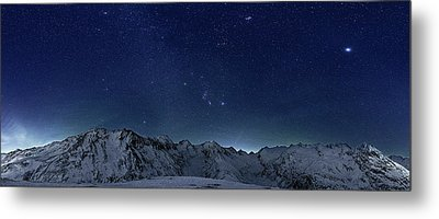 Star Panorama Metal Print by RICOWde