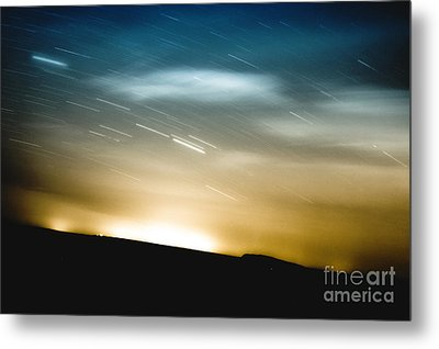 Star Trails Metal Print by Roth Ritter