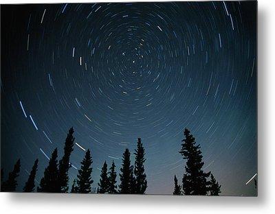 Star Trails, Sandilands Provincial Metal Print by Mike Grandmailson