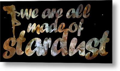 Stardust Metal Print by Nikki Marie Smith