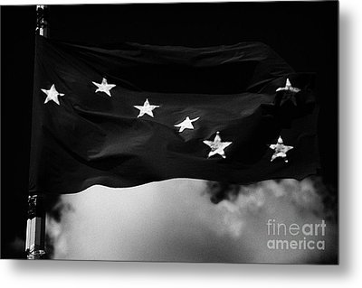 Starry Plough Flag Irish National Liberation Army Inla Ireland Metal Print by Joe Fox