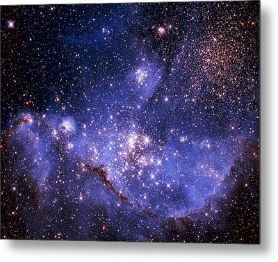 Stars And The Milky Way Metal Print by Don Hammond