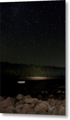Metal Print featuring the photograph Stars Over Otter Cove by Brent L Ander