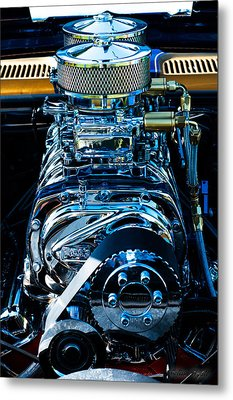 Start Your Engines Metal Print by Melissa Wyatt