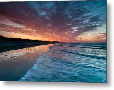 Starting Anew Metal Print by At Lands End Photography