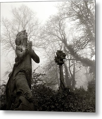 Statue Metal Print by Robert Dalton