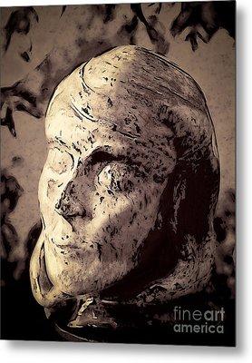 Statuesque  Metal Print by Arne Hansen