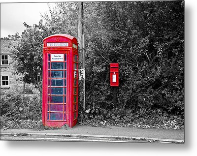 Stay In Touch Metal Print by Paul Howarth