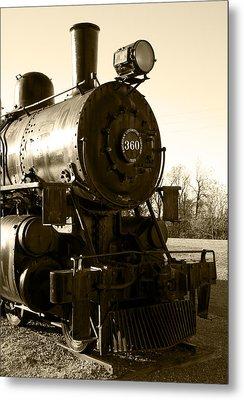 Steam Power Metal Print by Ricky Barnard