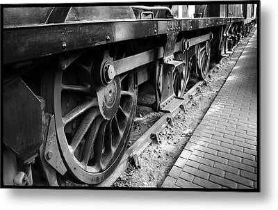 Steam Preserved Metal Print by Jacqui Collett