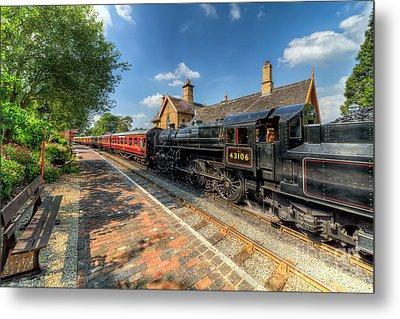 Steam Train Metal Print by Adrian Evans