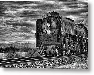Steam Train No 844 - Iv Metal Print