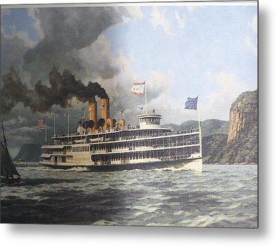 Steamer Alexander Hamilton William G Muller Metal Print by Jake Hartz