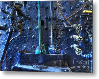 Steampunk 3 Metal Print by Bob Christopher
