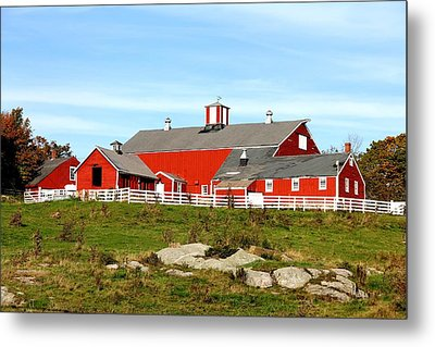 Steele Hill Farm Metal Print