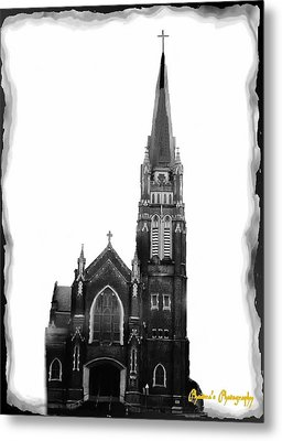 Metal Print featuring the photograph Steeple Chase 1 by Sadie Reneau