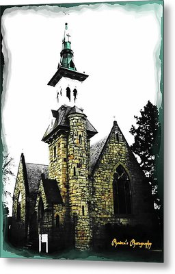 Metal Print featuring the photograph Steeple Chase 2 by Sadie Reneau