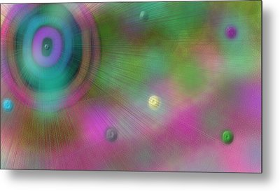 Stellar Evolution Metal Print by Rosana Ortiz