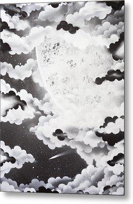 Stellar Moon Metal Print by Stephen Ford