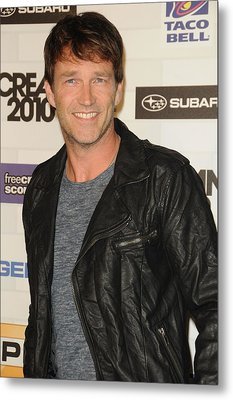 Stephen Moyer At Arrivals For Spike Metal Print by Everett