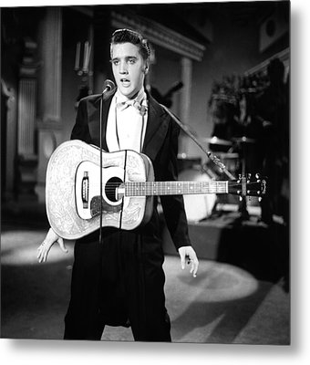 Steve Allen Show, 1956-61, Elvis Metal Print by Everett