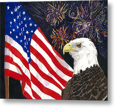 Still Free Metal Print by Joy Braverman