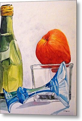 Still Life 2 Metal Print by D K Betts