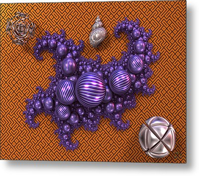 Study In Still Life Metal Print