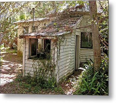 Metal Print featuring the photograph Still Standing by Lou Belcher