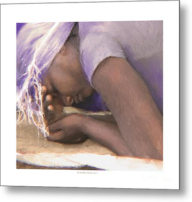 still suffering - HAITI Metal Print