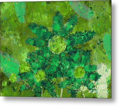 Stimuli Floral -s11bt01 Metal Print by Variance Collections