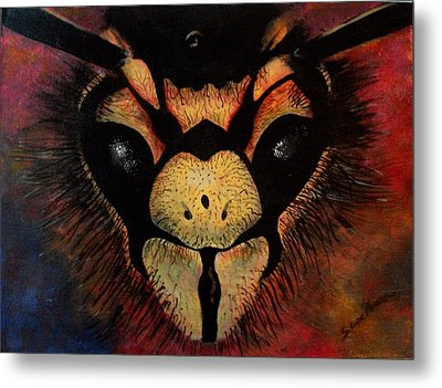 Metal Print featuring the painting Sting by Sarah Farren
