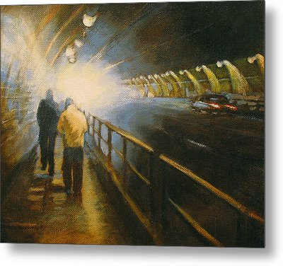 Stockton Tunnel Metal Print by Meg Biddle