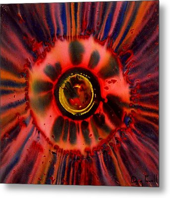 Stoked Embryo Metal Print