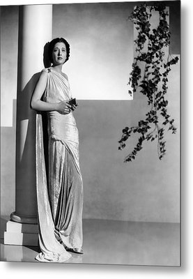 Stolen Holiday, Kay Francis, 1937 Metal Print by Everett