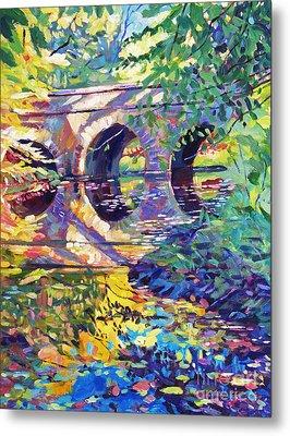 Stone Footbridge Metal Print