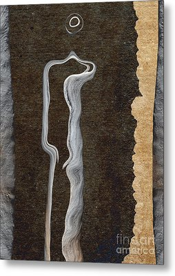 Stone Men 01 - Her Metal Print by Variance Collections