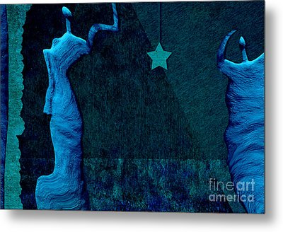 Stone Men 30-33 C02c - Les Femmes Metal Print by Variance Collections