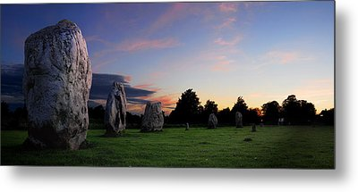 Metal Print featuring the photograph Stonehenge's Older Brother  by John Chivers