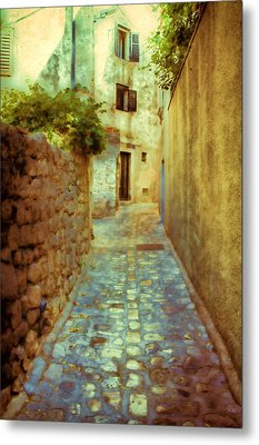 Stones And Walls Metal Print by Jasna Buncic