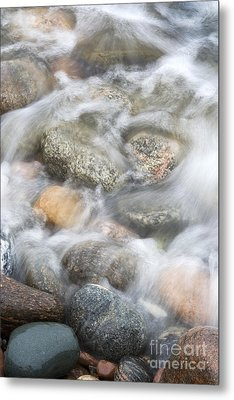 Stones In Water2 Metal Print by Johnny Hildingsson
