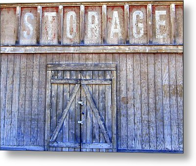 Storage - Architectural Photography Metal Print by Karyn Robinson