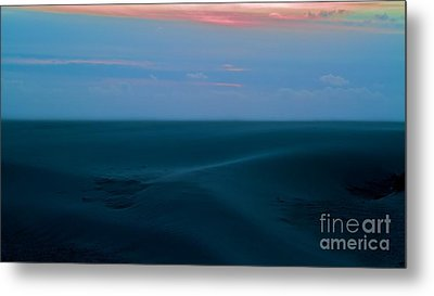 Storm And Blued Dunes Metal Print