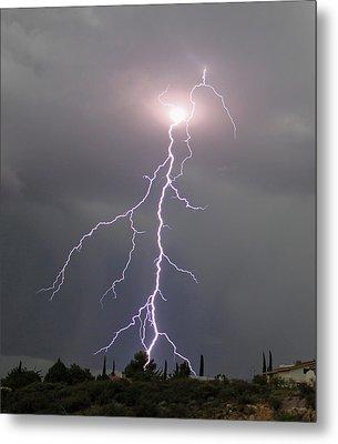 Storm Bolt Metal Print