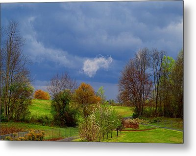Metal Print featuring the photograph Storm Cell by Kathryn Meyer