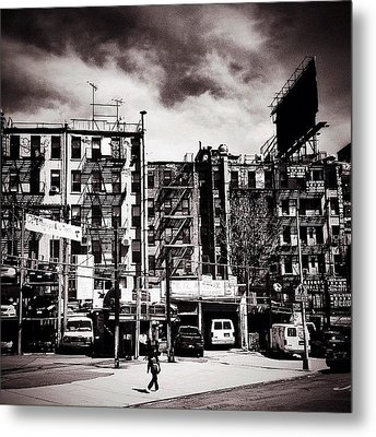 Storm Clouds - Chinatown - New York City Metal Print by Vivienne Gucwa