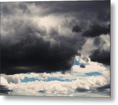 Storm Clouds-1 Metal Print by Todd Sherlock