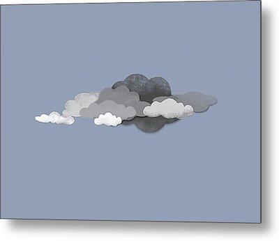 Storm Clouds Metal Print by Jutta Kuss