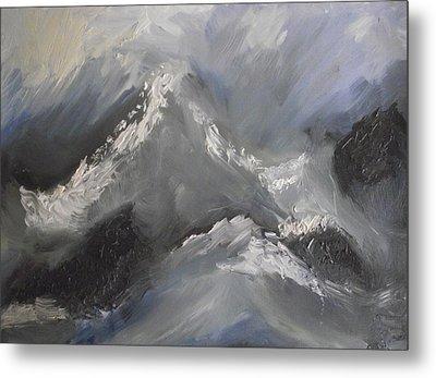 Storm Gathering Metal Print by Martin Blakeley
