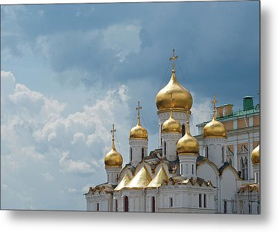 Storm In Russia Metal Print by Boris SV